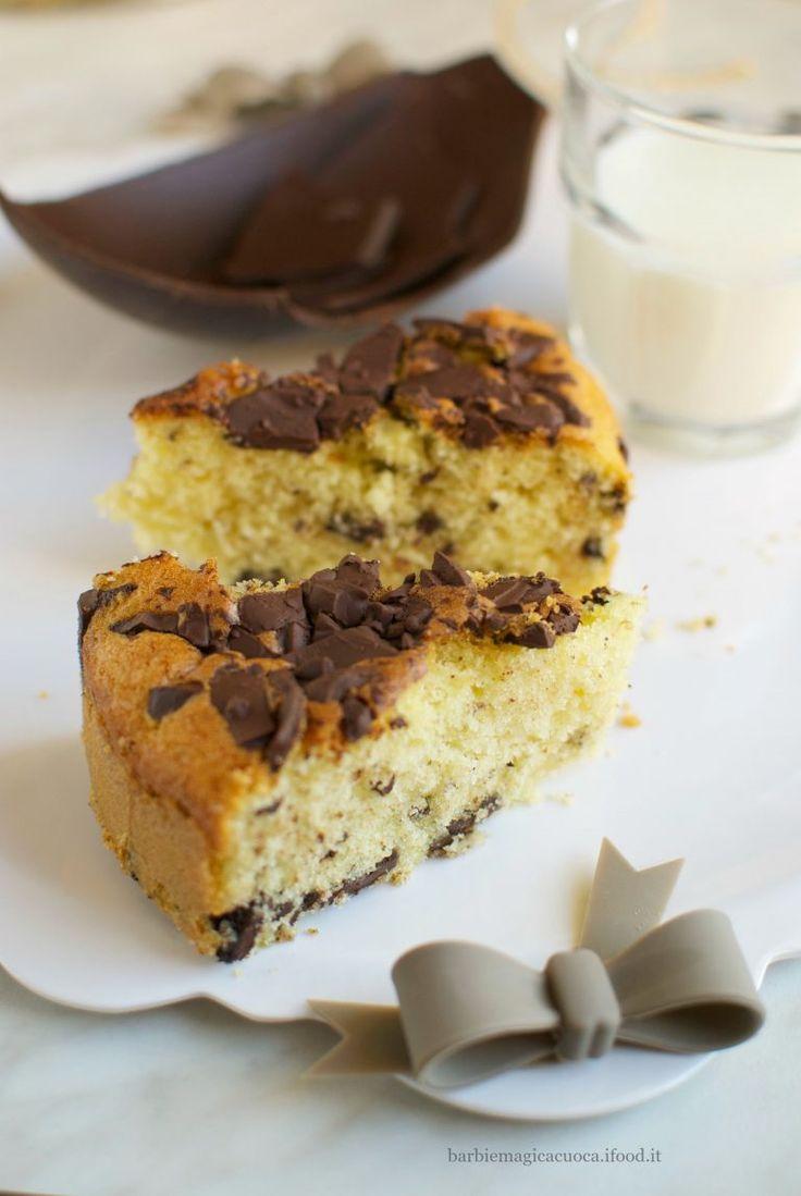 torta stracciatella panna e cioccolato