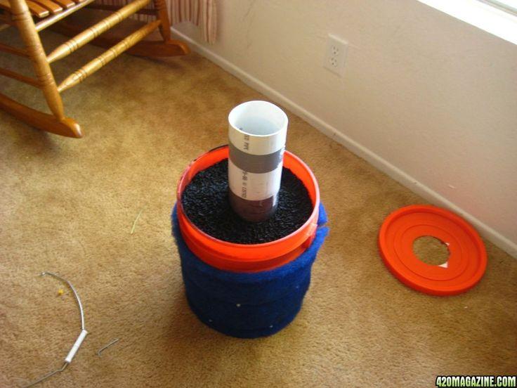 Diy bucket air purifier