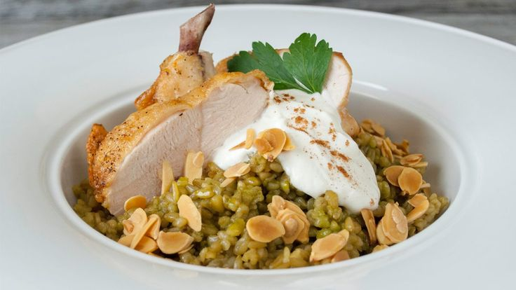 Chicken with Freekeh - Gusto