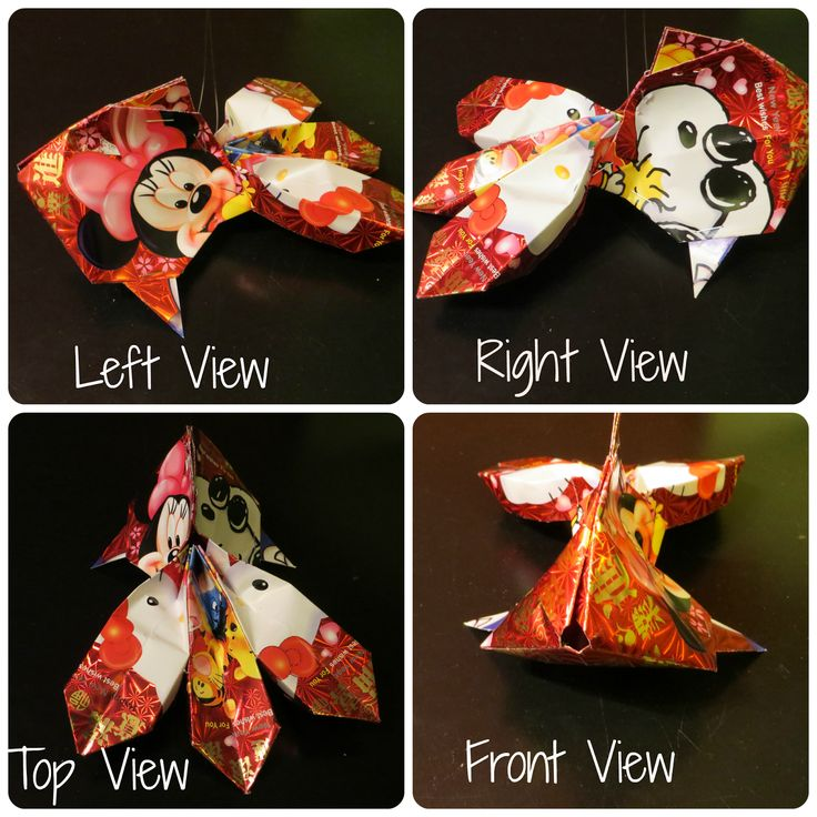 How to make a Fish Lantern using Ang Bao / Pow #1