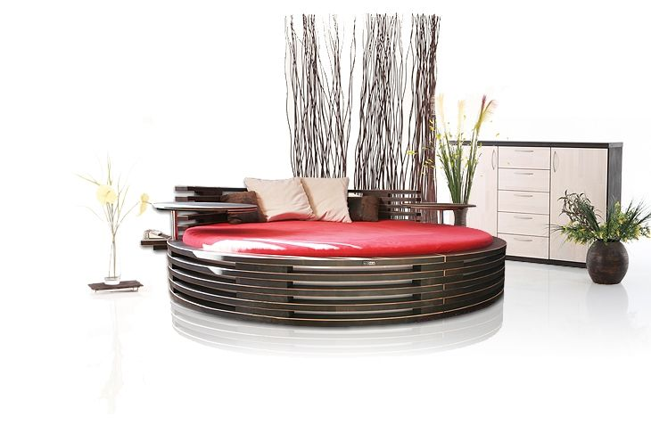 17 best images about letti rotondi on pinterest modern space saving furniture and bedroom - Letto circolare ...