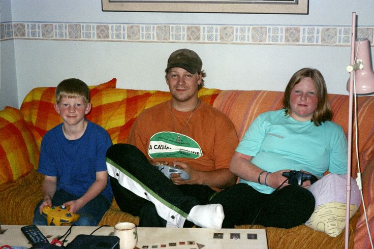My youngest son, my little, little brother and my youngest daughter.
