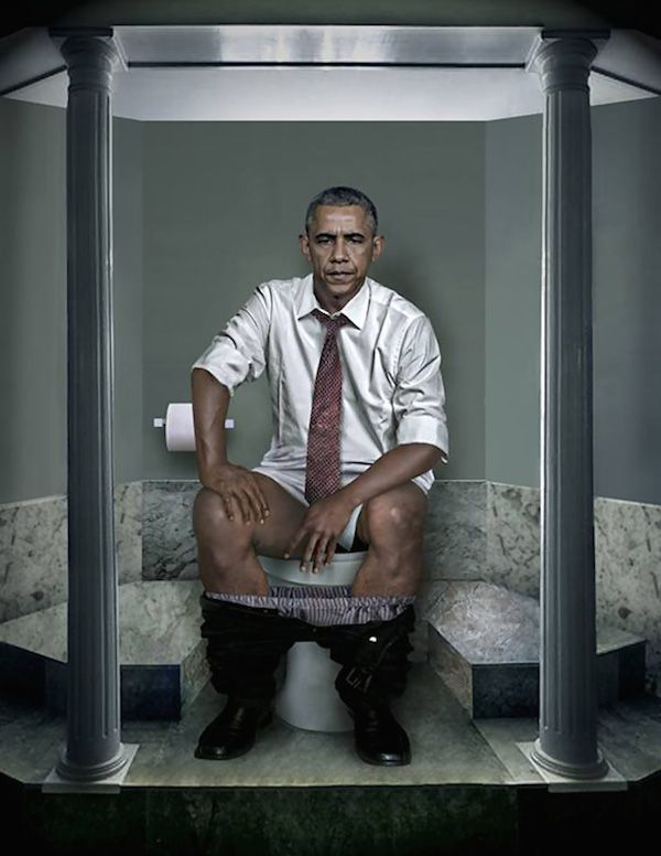 World Leaders On The Toilet – TomorroWoman