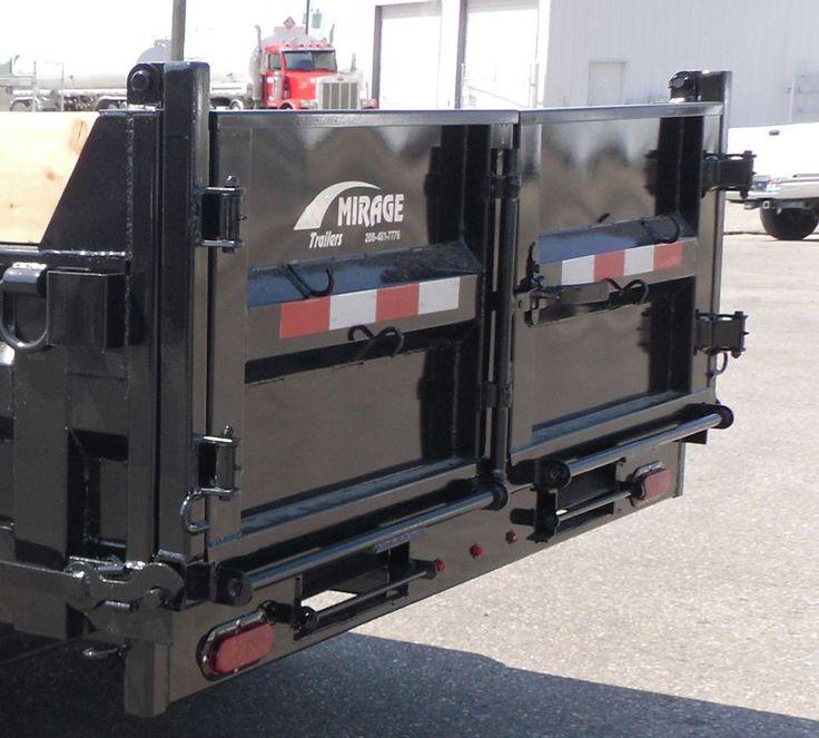 Dump Bed Tailgate Hinge Removable Pin : Unique dump trailers ideas on pinterest atv