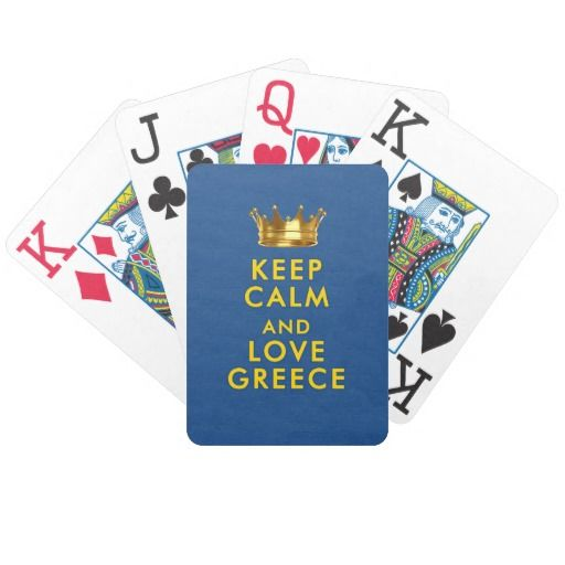 Keep Calm and love Greece slogan for those who love Greece and Greek people