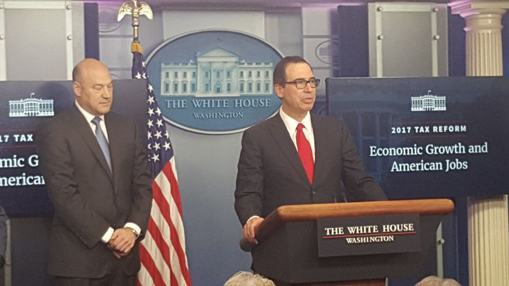 The WH, Wed. unveiled Pres. Trump's Tax Cut Plan, which includes repeal of the death tax and the alternative minimum tax and the reduction of the seven tax brackets down to only three.