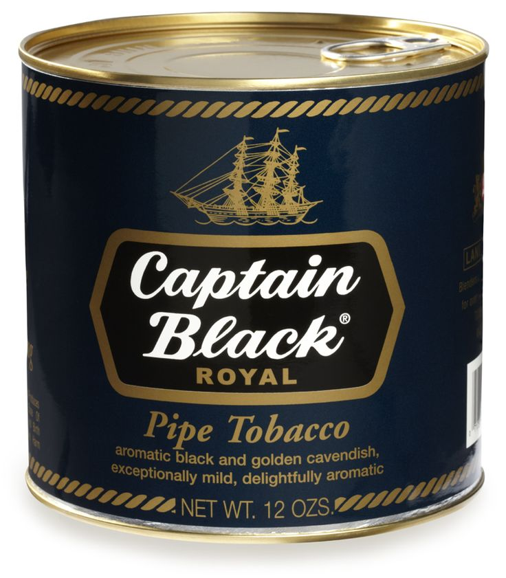 Captain Black Pipe Tobacco Royal Blue - 12 oz. Can