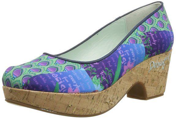 Desigual Pump Bloque Medio 1 - Zapatos de Vestir de tela mujer: #Desigual #Zapatos #Moda #Mujer