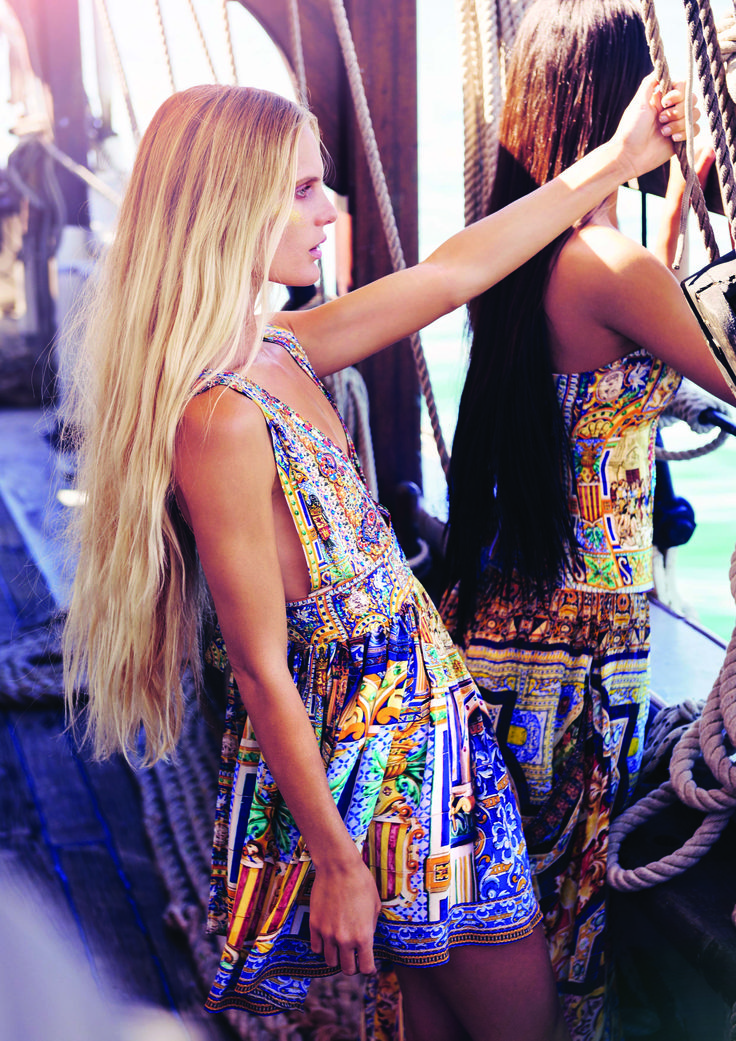 EL FLECHAZO V NECK SHORT DRESS W/ TIE | @CAMILLAWITHLOVE #CAMILLAWITHLOVE
