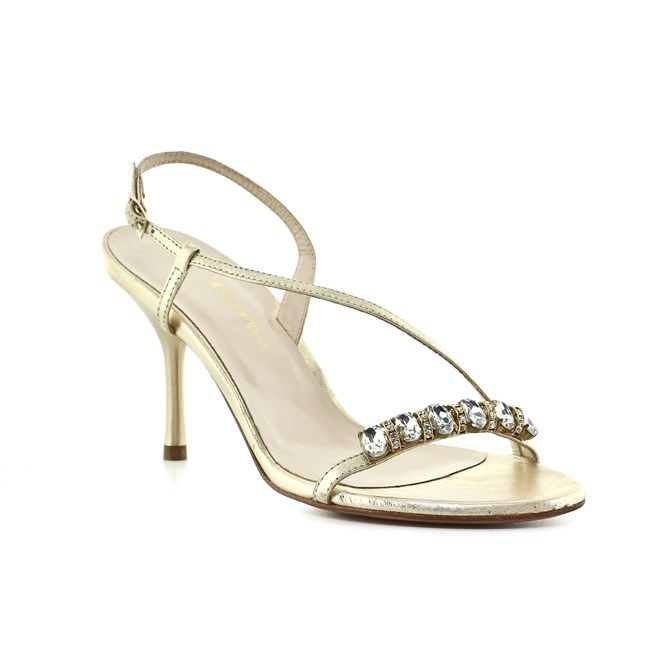 Πέδιλα Kαλογήρου Private Label Πέδιλα Πλατινέ | All About Shoes