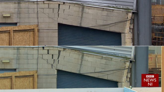 Windsor Park: Leisure centre building 'factor in damage'
