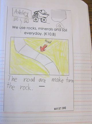 Kindergarten-rock unit- interactive writing ideas and discoveries to be made with rocks and soil