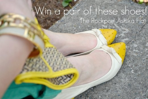 LAST DAY to enter to win a pair of these great shoes from Rockport! Click pic to enter!!