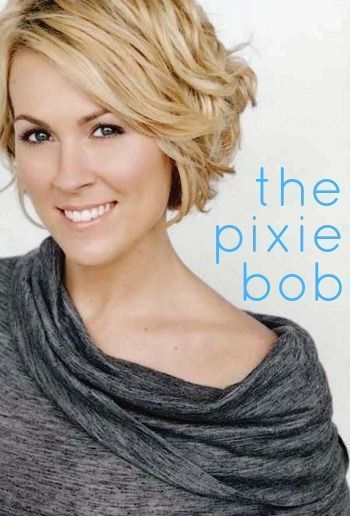 Nervous About Cutting Your Hair? Try a Pixie Bob! A pictorial guide to some great pixie bob hairstyles.