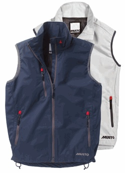 Musto Sardinia Vest  The Sardinia range vest offers a modern take on the light waterproof layer. Ideal in hot climates where rain or spray may be encountered. Mesh lined for increased comfort. http://www.landfallnavigation.com/sardiniavest.html