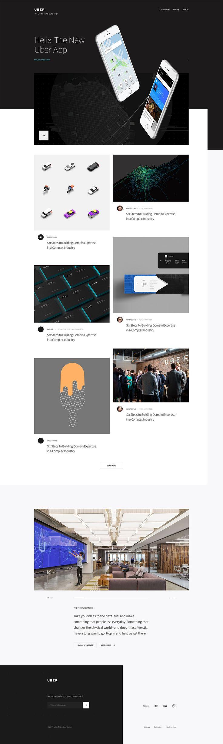 Uber Design – Ueno Case Study - Ueno. Digital agency. - Blog Design