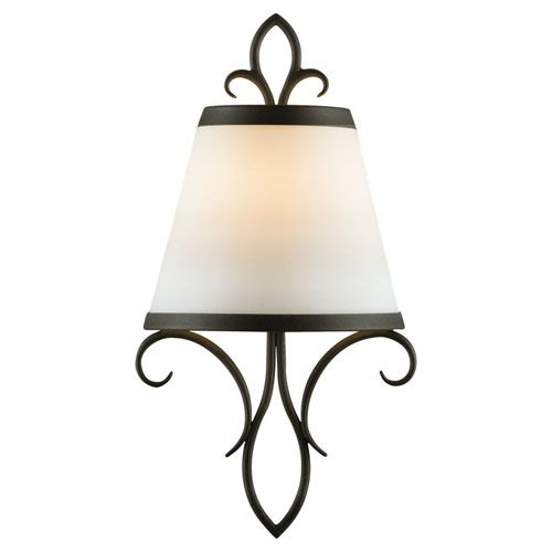 Peyton Black Wall Sconce Feiss 1 Light Armed Glass Wall Sconces Wall Lighting