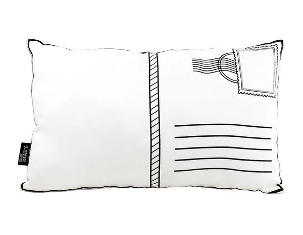 Poscard Softie White   Designed by Dear Diary   Krinkle Gifts