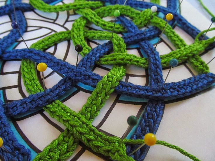 11 best nudo celta de crochet images on Pinterest   Ganchillo, Nudos ...
