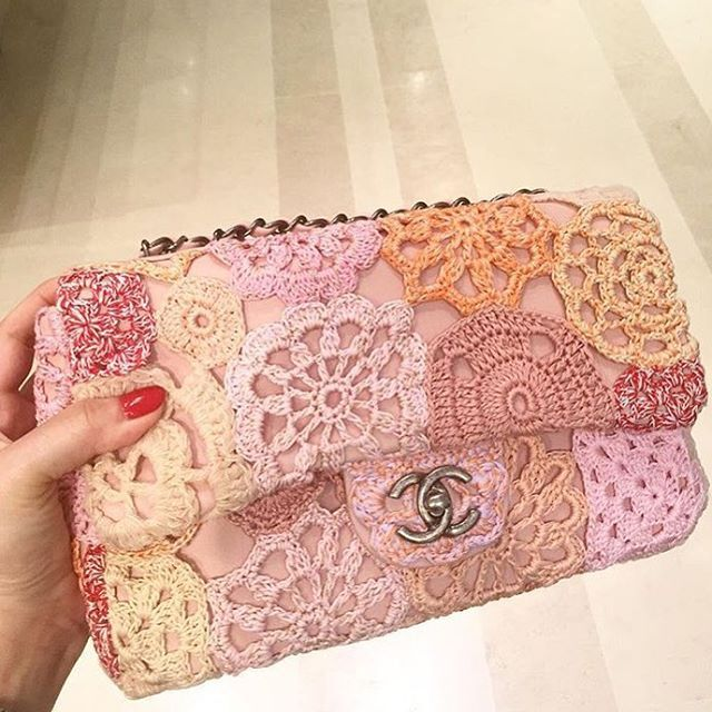 Chanel crochet bag