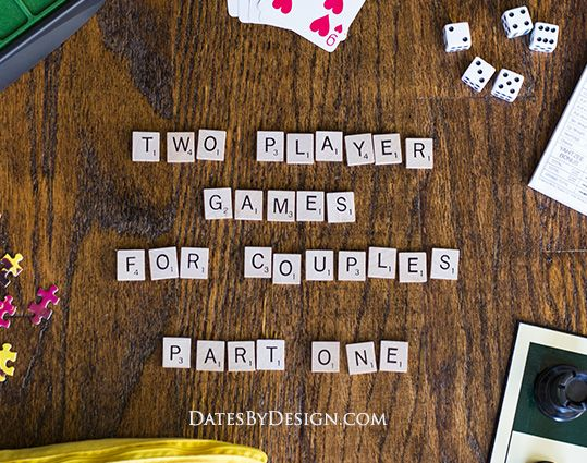 Two Player Games for Couples - Part 1 Order some takeout, pour some wine, and turn on some music. Date night at home just got more fun!