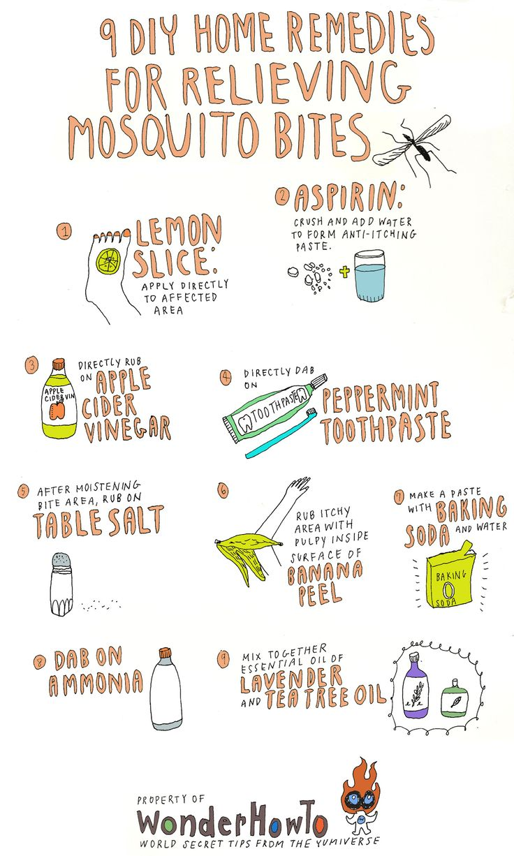 9 DIY Home Remedies for Relieving Itchy Mosquito Bites.   OHH y yo creí q mi único remedio era esperar y rascarme jaja