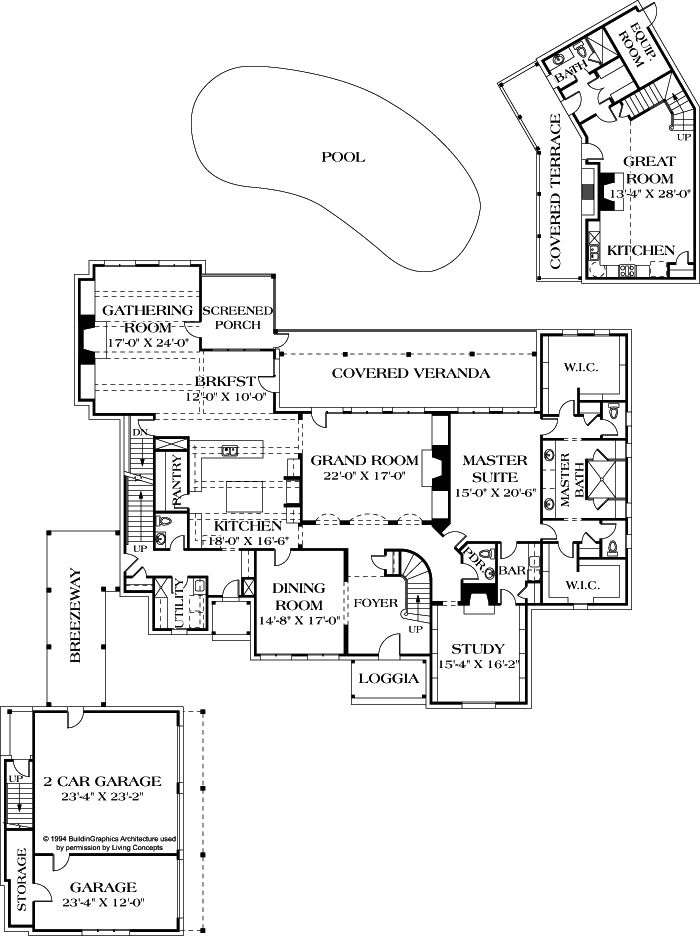 About Living Concepts House Plan St. Marcel #(I 7232)