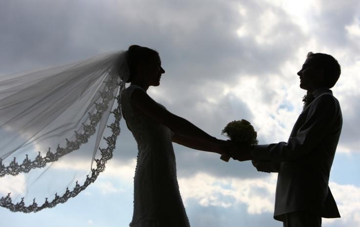 Hochzeitsbild mal anders