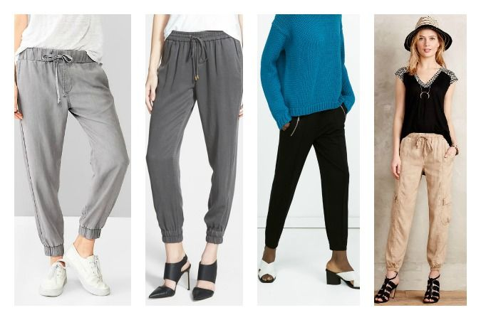 Casual comfort meets style in jogger pants