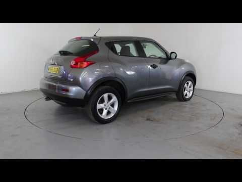 NISSAN JUKE VISIA 1.5 DCI - Air Conditioning - Alloy Wheels - Satellite Navigation | In grey with 28000 miles on the clock. Click here to see the full listing: ...