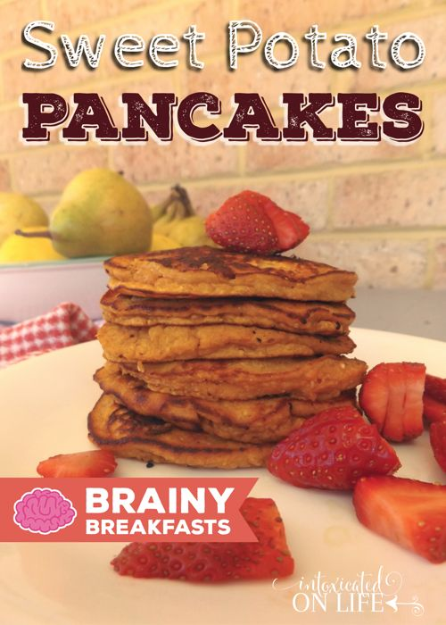 I just love baking pancakes with coconut flour. Low in carbohydrates and high in fiber and protein, it makes an excellent baking flour substitute.