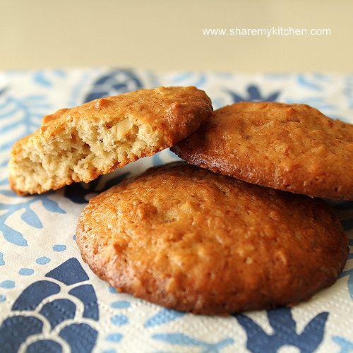 Almond banana cookies: Recipes Dinners, Sweet Recipes