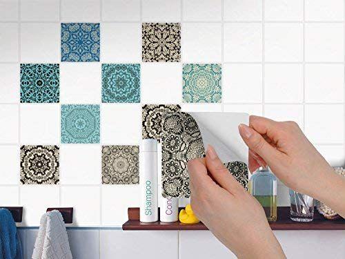Amazon De Creatisto Fliesenaufkleber Fliesenfolie U Mosaikfliesen Fliesen Sticker Folie Aufkleber Fliesenfolie Fliesen Sticker Fliesenaufkleber