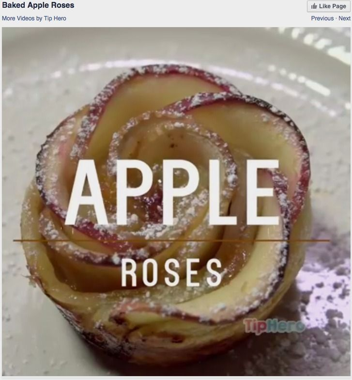 Tip Hero - Baked Apple Roses
