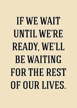 Style Your Life: stop waiting