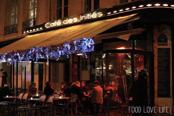 Parijs Cafe Inities straat