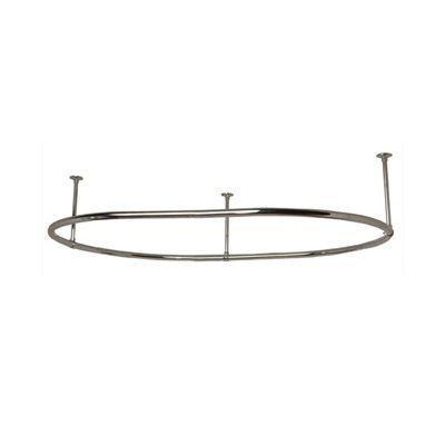 Clawfoot Tub Shower Enclosure   Oval Ring  30 x 54 Frame   Randolph Morris45 best Clawfoot tub shower images on Pinterest   Clawfoot tub  . Shower Curtain Ring For Clawfoot Tub. Home Design Ideas