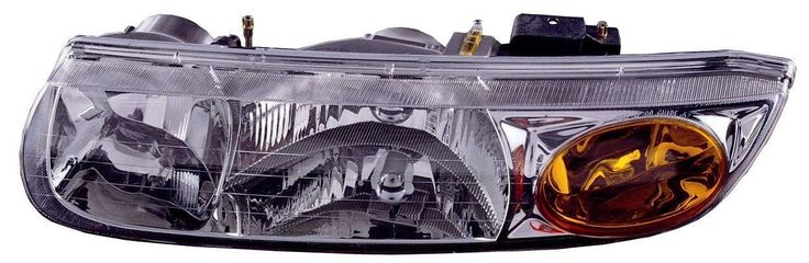 Saturn S-Series Sedan / Wagon 00-02 Headlight Assembly LH USA Driver Side