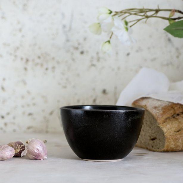 Set Of 4 Urban Modern Soup Bowls - Gray, White, Matte Black Or Aqua Green by 1220 Ceramics Studio on Gourmly