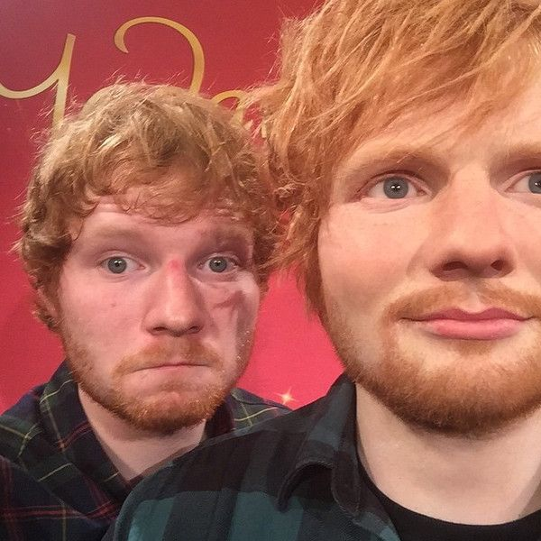 Ed Sheeran's Wax Figure Has a Very Impressive Bulge! Ed Sheeran, Instagram