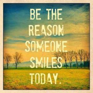 A simple smile uplift spirit :)