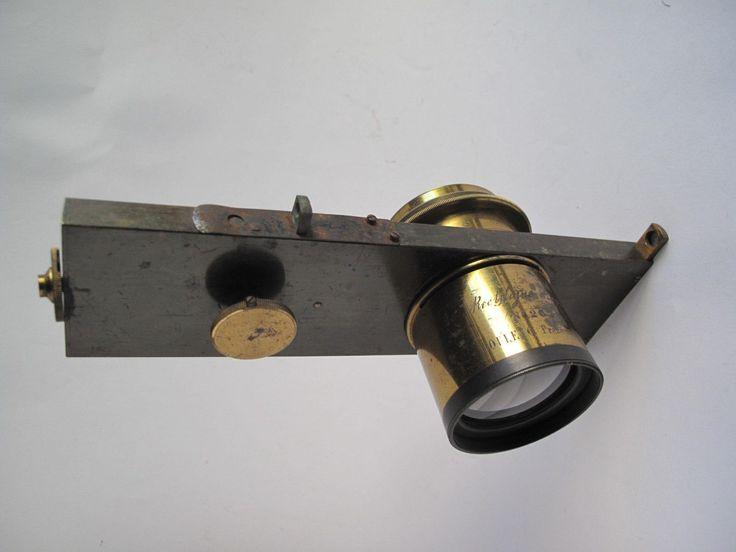 Poulenc fréres paris rectiligne rapide nº 2525 lens with.guillotine shutter