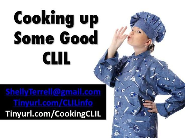 Cooking Up Some Good CLIL