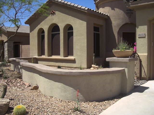 31 best stucco images on pinterest stucco walls for Courtyard in front of house