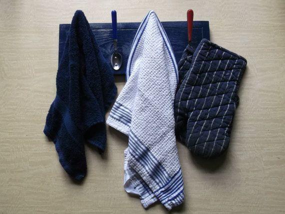 Handdoekenrekje Keuken : Sandra Klink