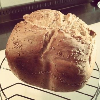 pane di grano duro con la mdp