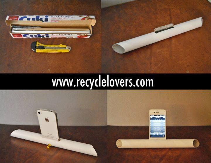 Amplificatore #FaiDaTE con il #RicicloCreativo del #Cartone Provateci, è semplicissimo!  SEGUICI SU: www.facebook.com/CreoEco www.pinterest.com/CreoEco