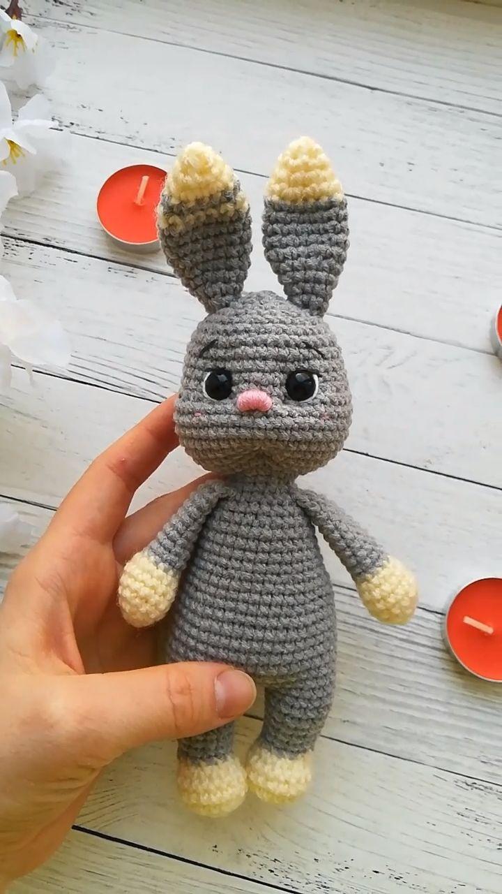 Amigurumi Easter Bunny Crochet pattern, amigurumi rabbit pattern ...