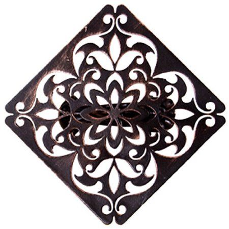 Better Homes and Gardens Medallion Drapery Holdback Clip, Oil-Rubbed Bronze