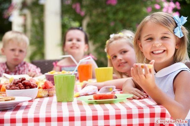 Самые полезные и вкусные угощения для детской вечеринки - Страна Мам